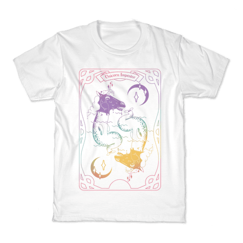 Unicorn Impostor Tarot Kids T-Shirt