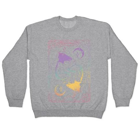 Unicorn Impostor Tarot Pullover