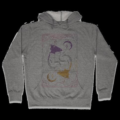 Unicorn Impostor Tarot Hooded Sweatshirt