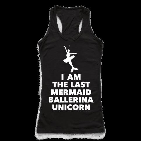 Mermaid Ballerina Unicorn