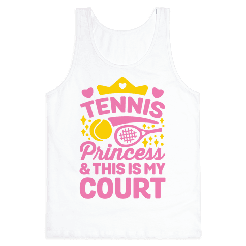 Tennis Princess Tank Top