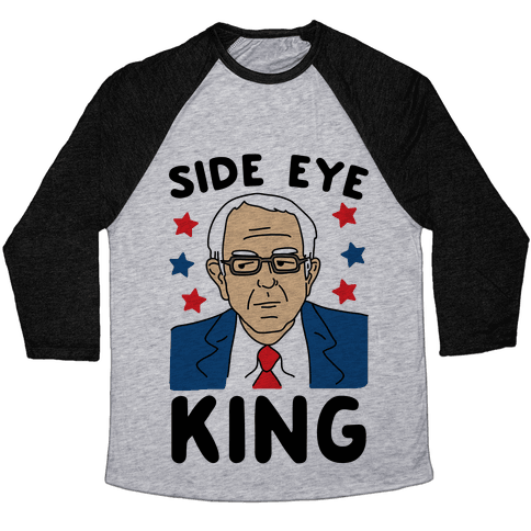 Side Eye King Baseball Tee