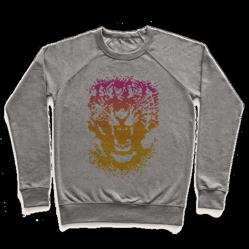 Pixel Tiger Pullover