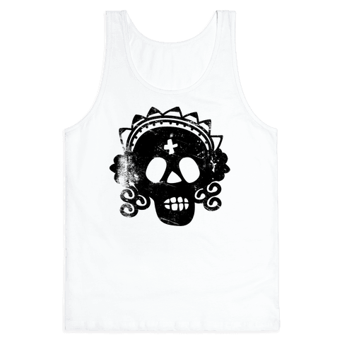 Sugar Skull Bride Tank Top