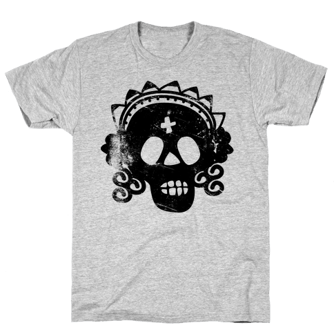 Sugar Skull Bride Mens T-Shirt