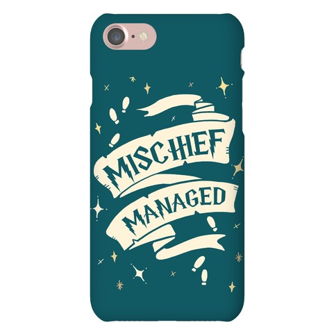 Mischief Managed Phone Case