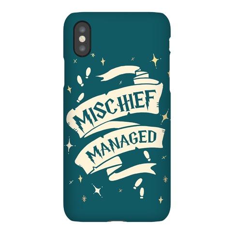 Mischief Managed Phone Case