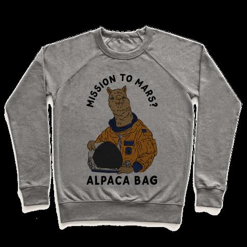 Mission to Mars Alpaca Bag