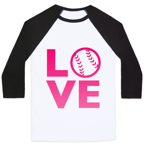 Love Baseball (Pink)