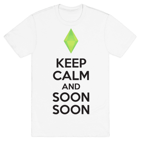 Soon Soon Mens T-Shirt