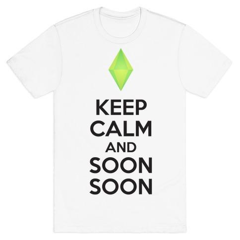 Soon Soon Mens T-Shirt