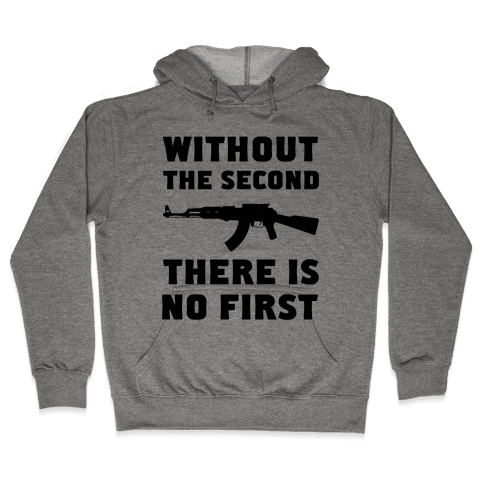 Without the Second Hooded Sweatshirt