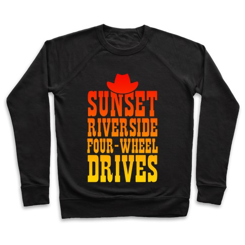 Sunset Riverside Four Wheel Drives Pullover