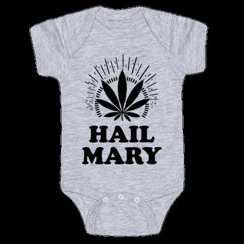 Hail Mary Baby Onesy