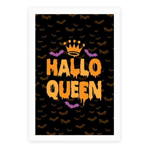 Hallo Queen Poster