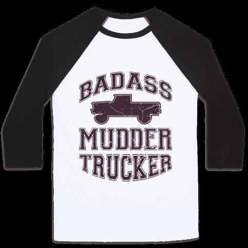 Badass Mudder Trucker Baseball Tee