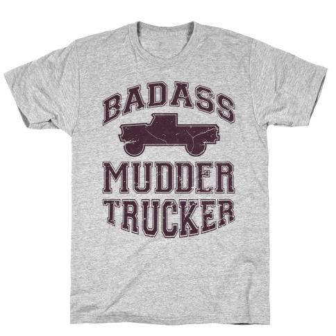 Badass Mudder Trucker T-Shirt