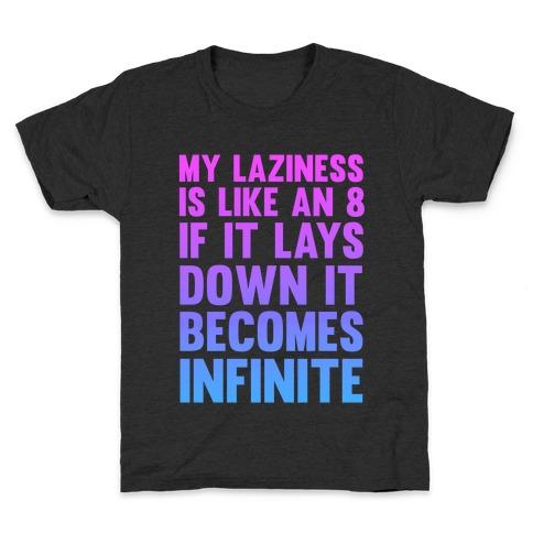 Infinite Laziness Kids T-Shirt