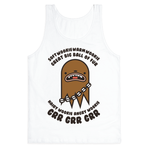 Soft Wookie Warm Wookie Tank Top