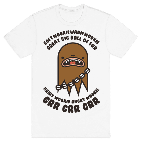 Soft Wookie Warm Wookie Mens T-Shirt