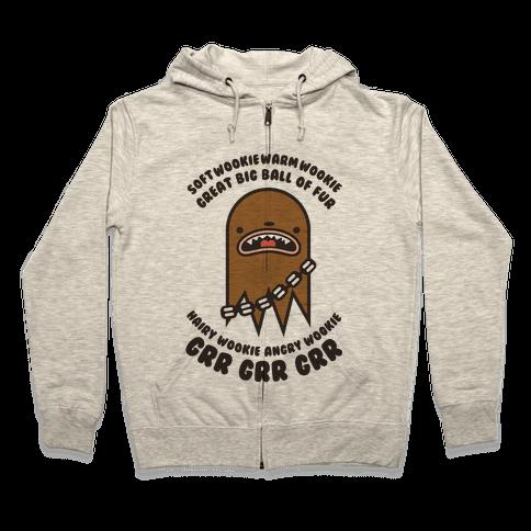 Soft Wookie Warm Wookie Zip Hoodie