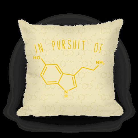 In Pursuit of Happiness (Serotonin Molecule)