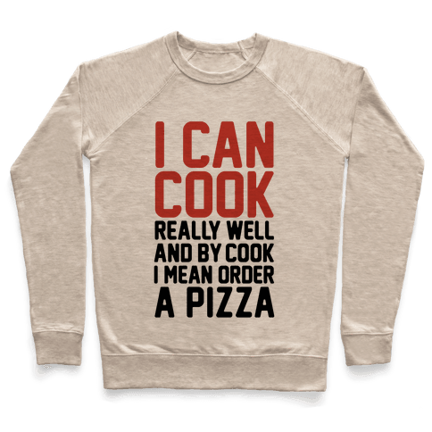 I Can Cook Pullover