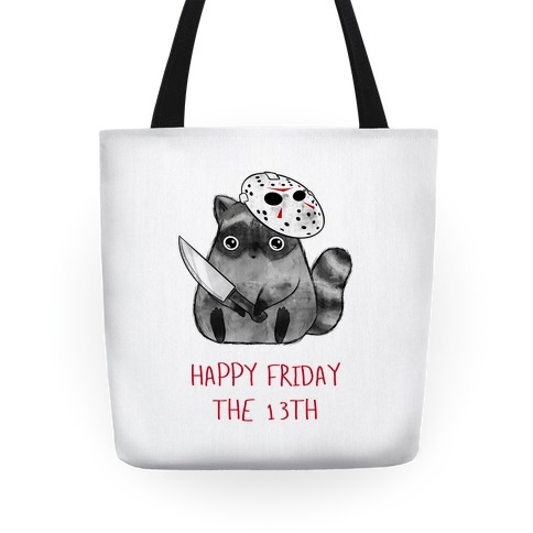 Happy Friday The 13th Tote