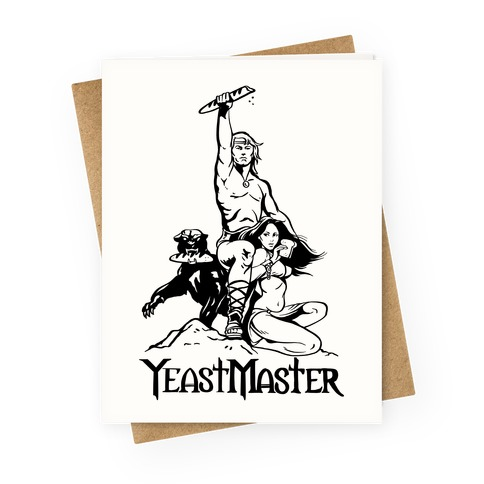 Yeastmaster Greeting Card