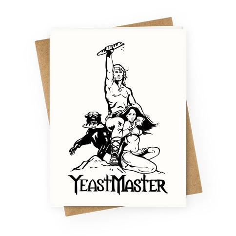 Yeastmaster Greeting Card