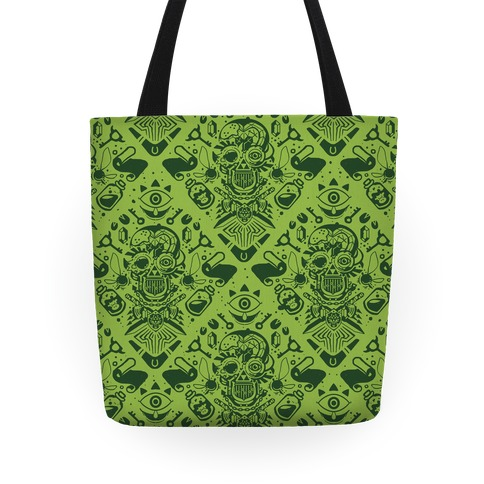 Legend Of Zelda Equip Pattern Tote