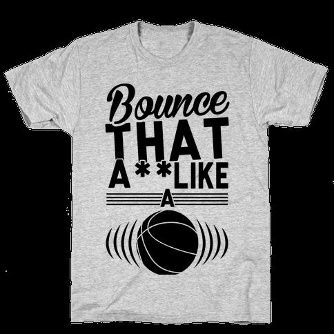 Bounce It Mens/Unisex T-Shirt