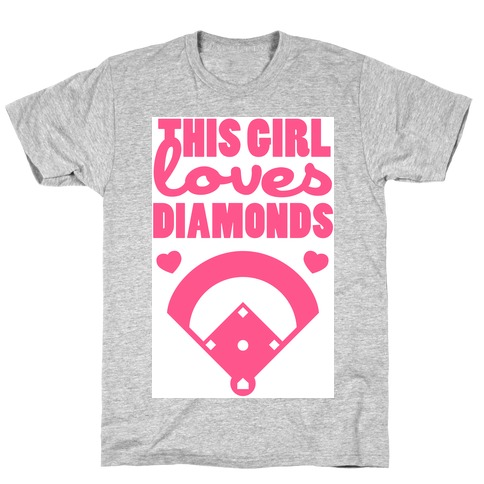 This Girl Loves (Baseball) Diamonds T-Shirt