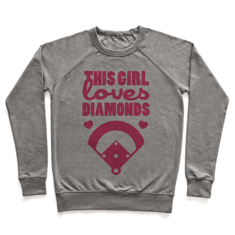 This Girl Loves (Baseball) Diamonds Pullover
