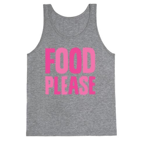 Food Please Tank Top