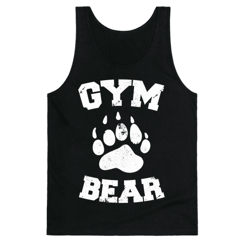 Gym Bear Tank Top