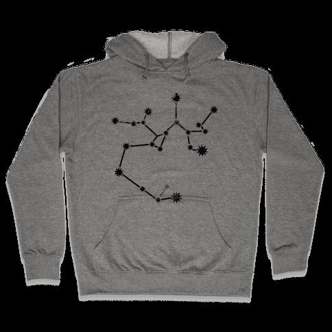 Sagittarius (tank) Hooded Sweatshirt