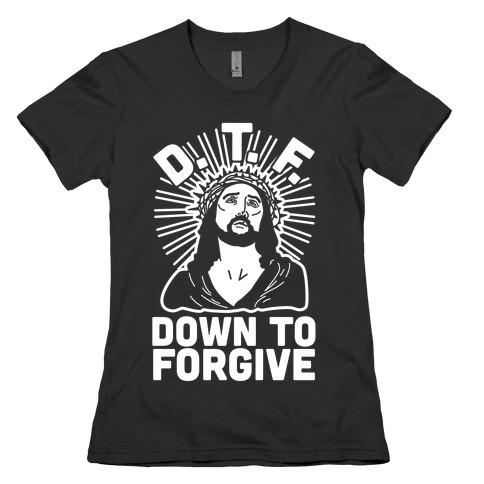 D.T.F. Jesus Womens T-Shirt