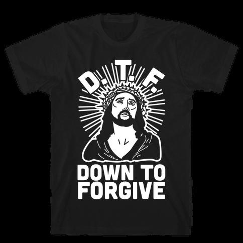 D.T.F. Jesus Mens T-Shirt