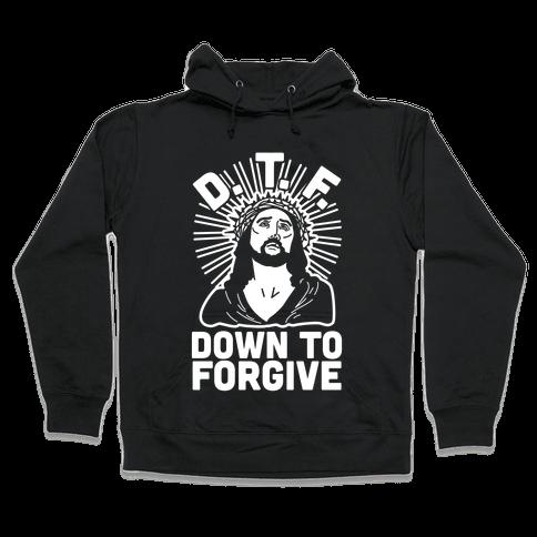 D.T.F. Jesus Hooded Sweatshirt
