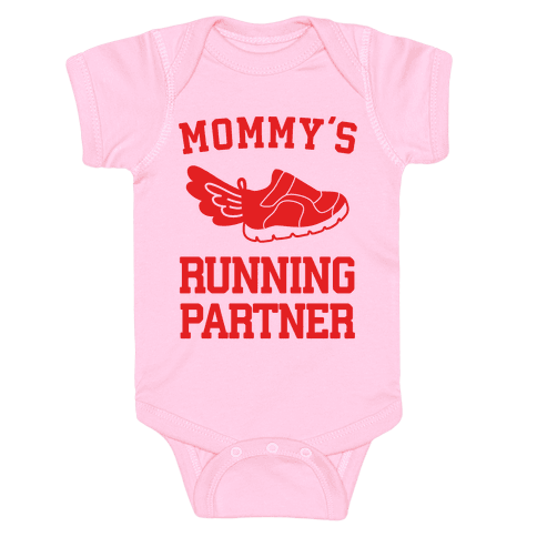Mommy's Running Partner Baby Onesy
