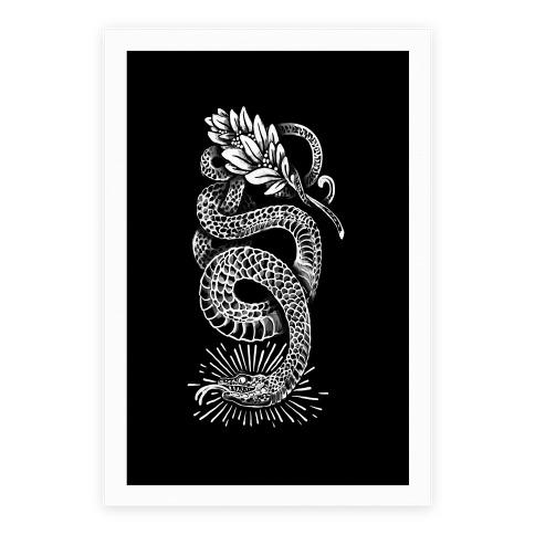 Laurel Snake Poster