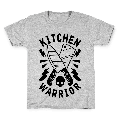 Kitchen Warrior Kids T-Shirt