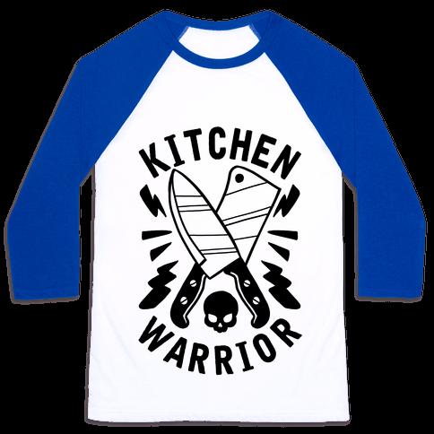 Kitchen Warrior Baseball Tee