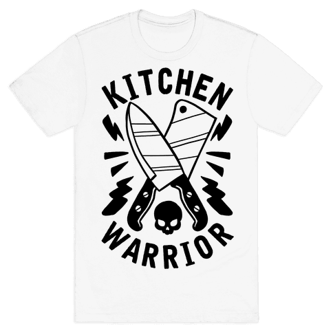Kitchen Warrior Mens T-Shirt