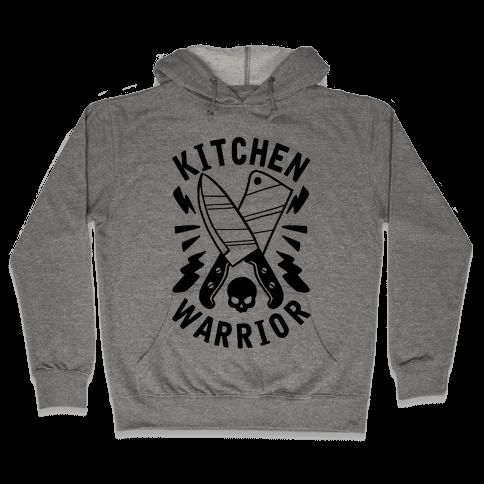 Kitchen Warrior Hooded Sweatshirt