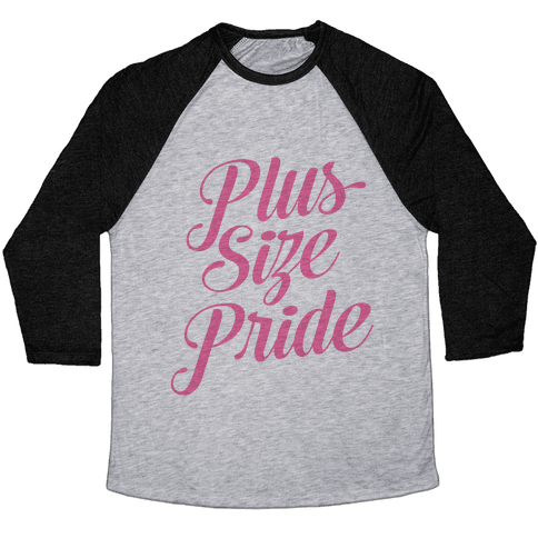 Plus Size Pride Baseball Tee