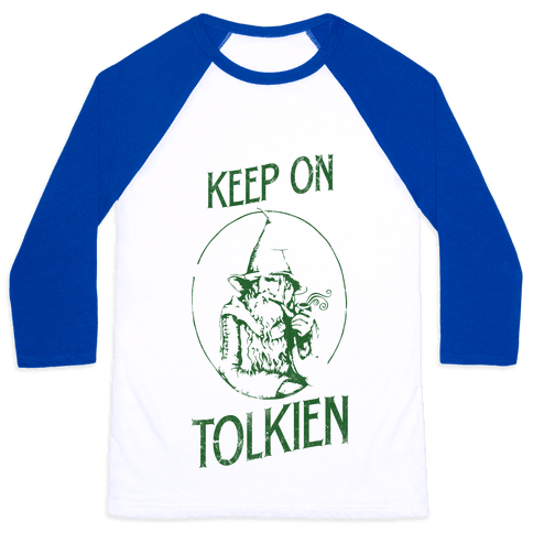 Keep On Tolkien! (Tank) Baseball Tee