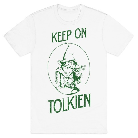 Keep On Tolkien! (Tank) Mens T-Shirt