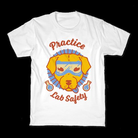 Practice Lab Safety Kids T-Shirt